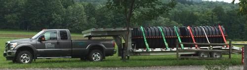 Infiltrators on truck